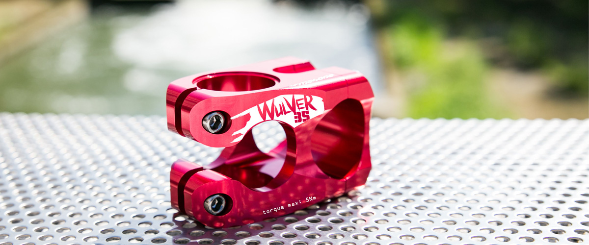 MacMahone-cncmachined-red 35mm-stem2